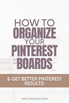 Do you want more Pinterest traffic to your blog? Start to organize and optimize your Pinterest boards for SEO, and gain more followers, get more views, and more clicks! In this blog post you learn how to organize your Pinterest boards for SEO in 5 simple steps.
