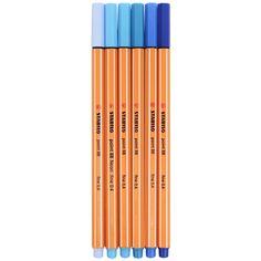 Caneta Stabilo Point 88 é a caneta clássica da Stabilo, fabricada com altíssimo padrão de qualidade a caneta Stabilo Point 88 possui alto rendimento, longa duração, ponta com reforço metálico, traço de 0,4mm e sua tinta é à base de água. A caneta Stabilo Point 88 é uma caneta multiuso, utilizada por crianças, jovens estudante e profissionais. #stabilo #stabilo88 #stabilopoint88 #point88 #canetastabilo #tondeazul Stationary Store, Stabilo Boss, Creative Journal, Makeup Rooms, Marker Pen, Faber Castell, Sharpie, School Supplies, Markers