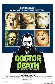 "AKA ""Doctor Death: Seeker of Souls"" 1973 tells the tale of a 1,000 year-old magician who, periodically, has to transfer his aging soul into a young, healthy body."