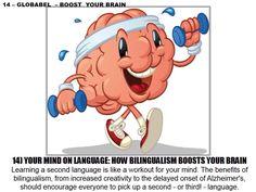 Bilingualism boosts brain