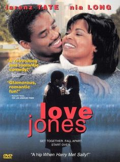 Rent Love Jones starring Larenz Tate and Nia Long on DVD and Blu-ray. Get unlimited DVD Movies & TV Shows delivered to your door with no late fees, ever. One month free trial! Love Jones Movie, Love Movie, Movie Tv, Movie Reels, Lisa Nicole Carson, African American Movies, American Art, American History, Nia Long