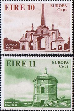 Eire Ireland 1978 Europa Architecture Fine Mint SG 436/7 Scott 443/4 Other Irish Stamps Take a look