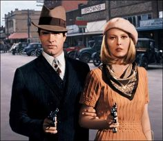 Bonnie and Clyde, 1967.. Great movie! Faye Dunaway is so beautiful in this movie...  !!
