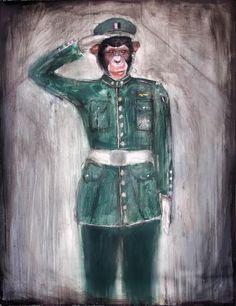 Carlo Deper- Vexullum (2012) 120 x 99 cm 1150€ https://www.veerkant.com/carlo-deperu/vexillum/
