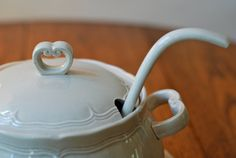 Fall is soup season. Serve yours in a pretty tureen.