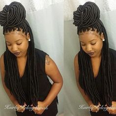 Beautiful Faux Locs