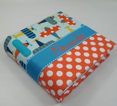 Simple Homemade Gifts Fabric Covered Photo Album Christmas Gifts