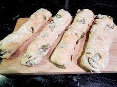 KARIZÓNA - VEGANSKÉ RECEPTY: Olivové pizza tyčinky