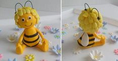 Love Cake Topper Cake Toppers Bee Cakes Cupcake Cakes Honey Cake Fondant Animals Cake Decorating Tips Diy Cake Gum Paste Love Cake Topper, Cake Topper Tutorial, Fondant Tutorial, Buttercream Designs, Ocean Cakes, Bee Cakes, Fondant Animals, Bee Party, Clay Pot Crafts