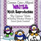 """My """"Common Core-Aligned Winter Math Reproducibles"""" pack includes 34 winter-themed math and activities that are designed for use in a second grade c..."""