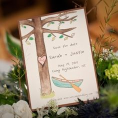 Helping a reader plan a blue and green campfire wedding. photo: Visio Photography