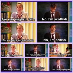 David Tennant and Catherine Tate Love, Love, LOVE this skit! I can watch it over and over and it still makes me laugh. :-p