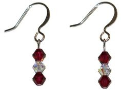 Ruby Earrings made with Swarovski Elements EP Laser http://www.amazon.com/dp/B00GZI8A6W/ref=cm_sw_r_pi_dp_1Q76vb1854TND