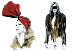 sketchbook fashion - Recherche Google