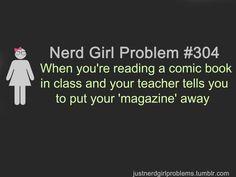Nerd Girl Problems #304