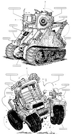 Weird rides by Lorenzo Etherington