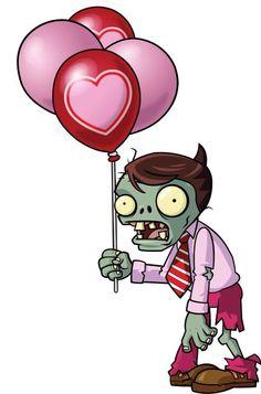 Zombie básico San Valentín