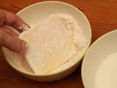 Tökéletes rántott sajt recept lépés 4 foto Dairy, Cheese, Food, Essen, Meals, Yemek, Eten