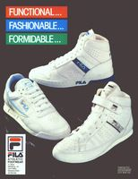 Fila Athletic Footwear 1987 Ad Picture
