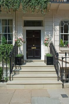 wood entry steps - Google Search