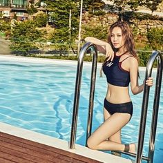 YURA of GIRL'S DAY in new 'SWIB' swimwear (allkpop.com). About time for some synchronised splashing! AMxx