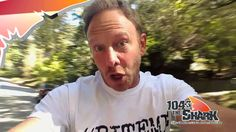 Watch Out! Ian Ziering says there's a Sharkacane!
