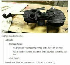 Violin; The Devil went down to Georgia