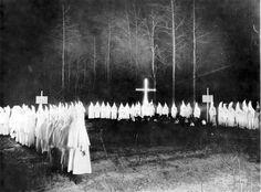 Ku Klux Klan Rally - El Dorado, Arkansas, 1920s