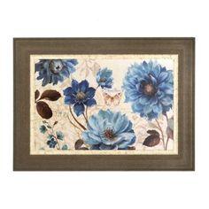 Blue Notes Framed Art Print | Kirklands