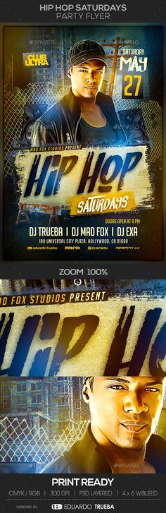 Hip Hop Flyer Template  Flyer Template Hip Hop And Template