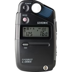Amazon.com : Sekonic L-308S Flashmate Digital Incident, Reflected & Flash Light Meter : Photographic Light Meters : Camera & Photo