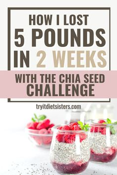 These Sisters tried Chia Seeds to lose weight - see their results! The healthy and omega rich super foods should be a part of every diet! try out these great recipes now to lose weight fast. I want to show you how to use chia seeds for weight loss. I love these fat burning recipes for weight loss using chia seeds. These chia seed drink recipes include lemon and yogurt for diet results. See more at tryitdietsisters.com. Fat Burning Drinks, Fat Burning Foods, Diet Plans To Lose Weight Fast, How To Lose Weight Fast, Chia Seed Breakfast, Chia Recipe, Vanilla Recipes, How To Eat Better, Chia Seeds