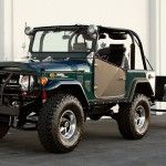 for sale 1972 toyota fj40 land cruiser and trailer