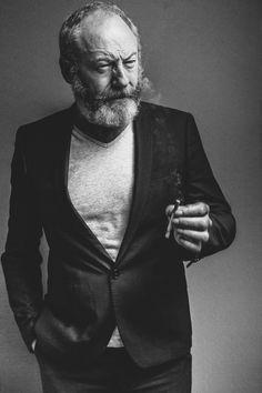 Liam Cunningham by Filip Van Roe Liam Cunningham, Khal Drogo, Jon Snow, Game Of Thrones Cast, Portrait Studio, Its A Mans World, Shooting Photo, Looks Cool, Best Actor