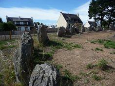 Cromlech de Kerbourgnec - Saint Pierre de Quiberon (56) France
