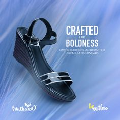 Bold enough for the flawless you! Check out the most limited-edition handcrafted premium footwear from Walkaroo! #Walkaroo #LimitedEdition #Footwear #Handcrafted Footwear, Sandals, Check, Casual, Shoes, Products, Women, Fashion, Moda