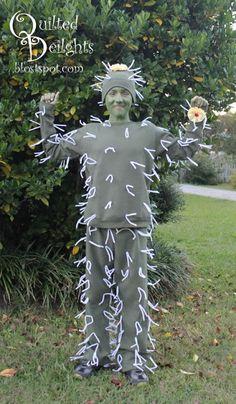 Quilted Delights: Cactus Halloween Costume