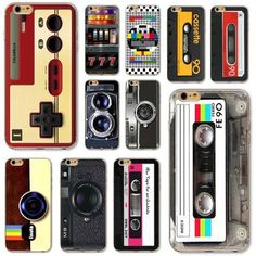 Soft Silicone Ultra Thin Vintage Art Phone Case