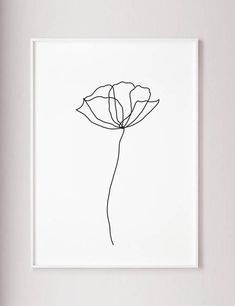 Poppy flower wall line art print Minimalist modern art decor one line art contour drawing wabi sabi art black and white botanic poster Mohnblüte Wand Linie Kunstdruck minimalistische moderne Kunst Source by haleyxia Wabi Sabi, Minimalist Poster, Modern Minimalist, Minimalist Drawing, Minimalist Decor, Poster Minimalista, Kunst Poster, Plant Drawing, Art Moderne