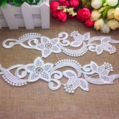 New DIY Fashion Wedding Dress Flower design Garment Accessories Lace Sewing BT51 https://t.co/fp5zBXekRa https://t.co/aG0RCkeiZ6