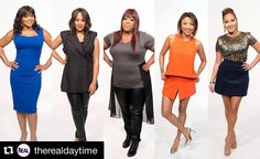 Who better then the women of @therealdaytime to be our trendsetters. #Repost @therealdaytime  Fierce runs in the family. We loved having @TrinaBraxton1 strike a pose with #TheReal ladies.#lolagetts #trendsettertuesday #love#confident #beautiful