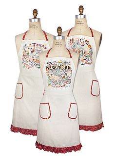 Aprons Get Stylish In the Kitchen | The Totefish Blog