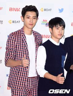 Chanyeol, D.O - 151011 Asia Song Festival in Busan Credit: OSEN.