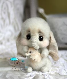 38 Ideas Baby Animals Art Sweets For 2019 Baby Animals Super Cute, Cute Stuffed Animals, Cute Little Animals, Cute Funny Animals, Baby Animals Pictures, Cute Animal Pictures, Cute Animal Drawings, Cute Toys, Felt Animals