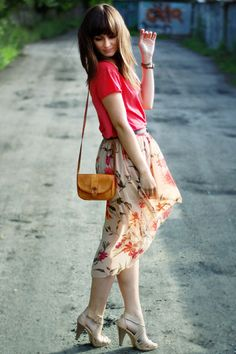Bronze-vintage-bag-salmon-romwe-top-beige-love-skirt