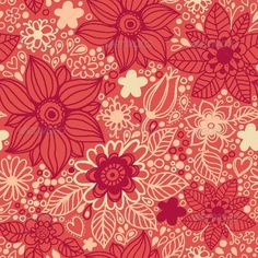 GraphicRiver Floral Seamless Pattern in Vector 4539497