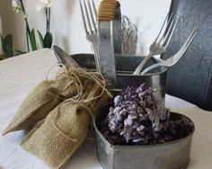 decoration table ambiance campagne