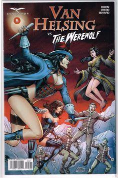 Vault 35 Van Helsing Vs The Werewolf #2 Cover A NM 2017 Zenescope Comic