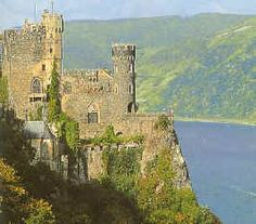 Rhine River Castles  Location: Rhine River  Country: Germany