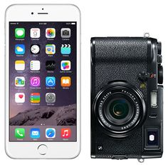 Here's the iPhone 6 Plus Next to the Fuji X100S. Which is the 'Pocket Camera' Now?